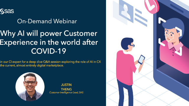 Why AI will power Customer Experience in the world after COVID-19