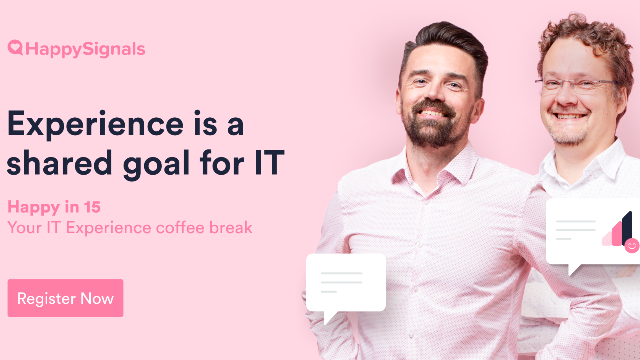 Experience; the shared goal for IT