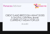 CBDCs and Britcoin - what does a digital central bank currency mean for us?