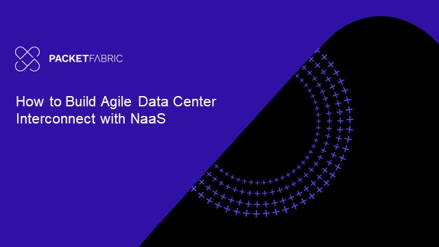 How to Build Agile Data Center Interconnect with NaaS