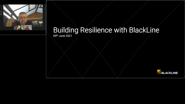 Building Resilience with BlackLine