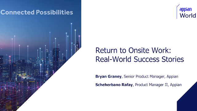Return to Onsite Work: Real-World Success Stories