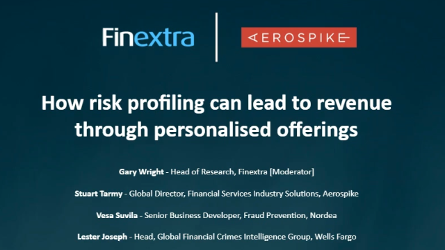 How Risk Profiling Can Lead to Revenue Through Personalised Offerings