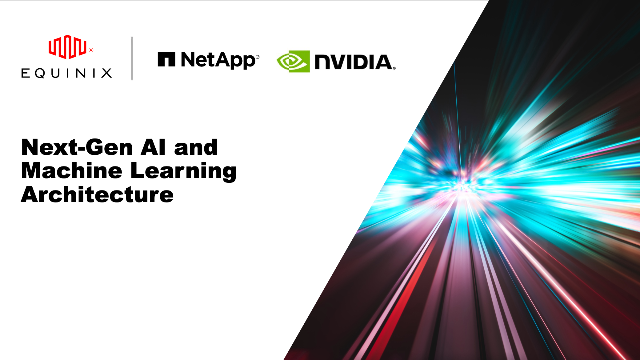 Next-Gen AI and Machine Learning Architecture