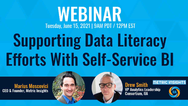 Supporting Data Literacy Efforts With Self-Service BI