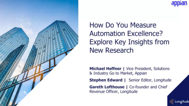 How Do You Measure Automation Excellence? Explore Key Insights from New Research