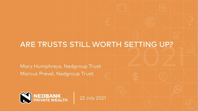 Are trusts still worth setting up?
