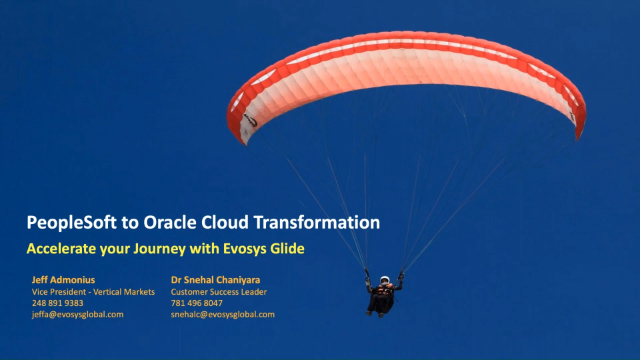 PeopleSoft to Oracle Cloud Transformation for Higher Ed & Public Sector