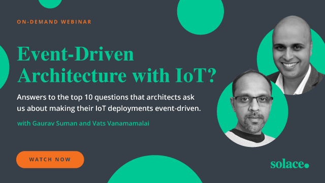 Event-Driven Architecture with IoT?