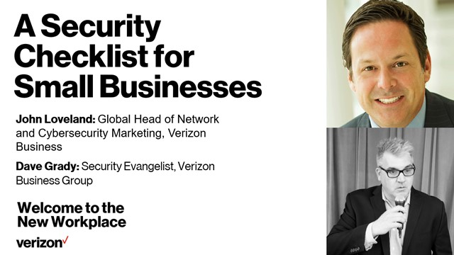 Verizon Presents: Welcome to the New Workplace, Webinar #7
