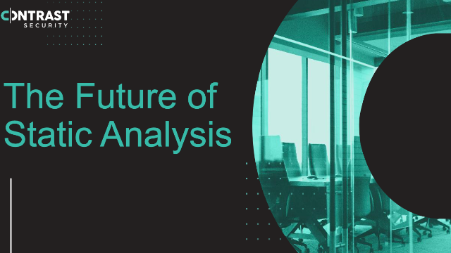 The SAST of the Future: Pipeline-native Static Analysis