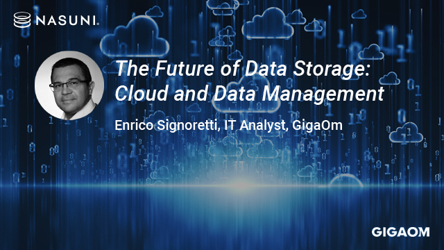 The Future of Data Storage: Cloud and Data Management