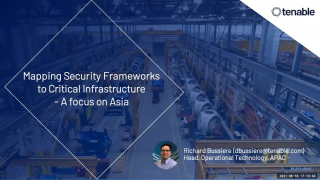 Mapping Security Frameworks to Critical Assets - Focus on Asia Guidelines