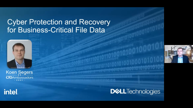 Cyber Protection and Recovery for Business-Critical File Data
