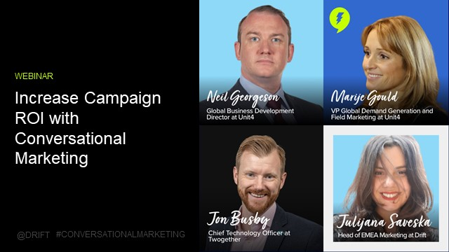 How to increase campaign ROI with conversational marketing