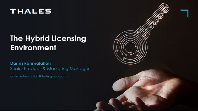 The Path To Software Licensing - The Hybrid Licensing Environment