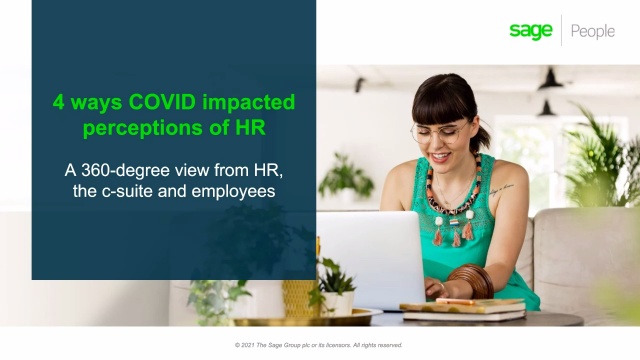 4 ways COVID impacted perceptions of HR