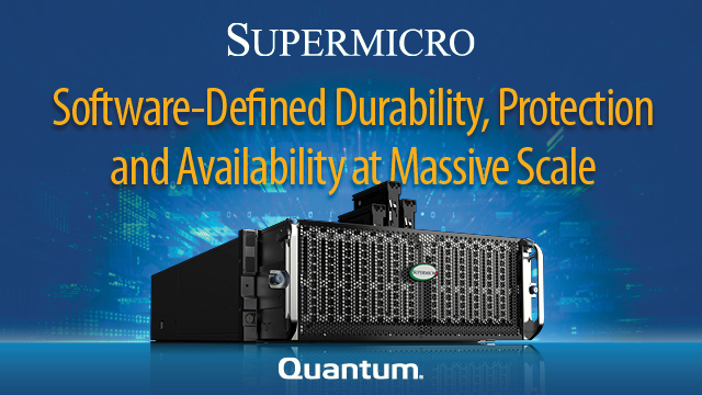 Software-Defined Durability, Protection and Availability at Massive Scale