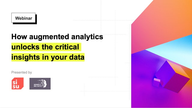 How augmented analytics unlocks the critical insights in your data