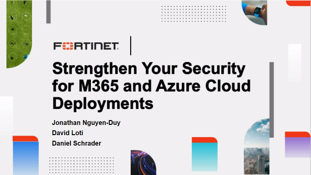 Strengthen your Security for M365 and Azure Cloud Deployments