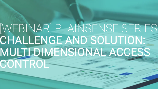 Authorization Challenges and Solutions with Multi-Dimensional Access