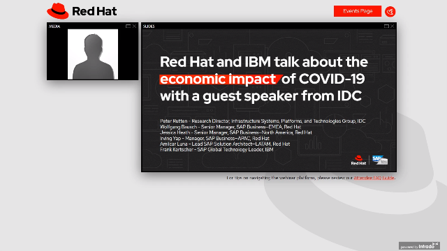 Red Hat and IBM talk about the economic impact of COVID-19 with IDC