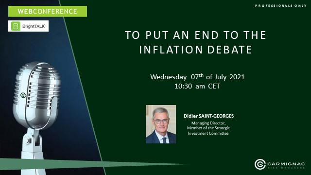 To put an end to the inflation debate
