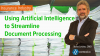 Using AI to Streamline Document Processing in the Insurance Industry