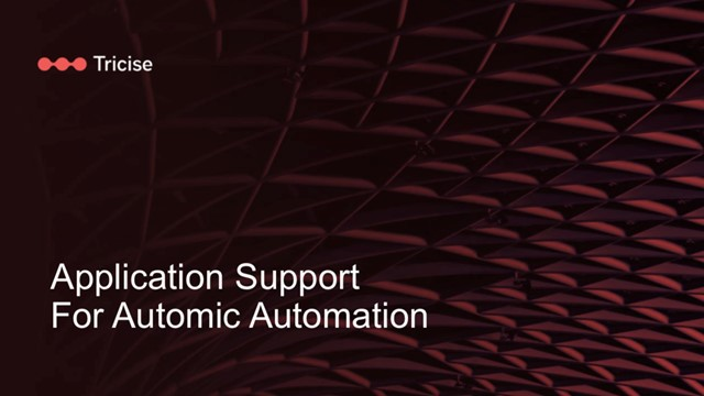 Automic Application Support