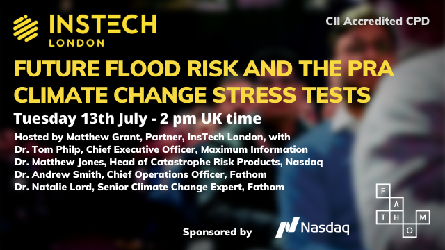 Future Flood Risk and the PRA Climate Change Stress Tests