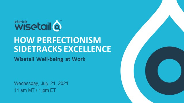 Well-being Ep. 5 - How perfectionism sidetracks excellence.