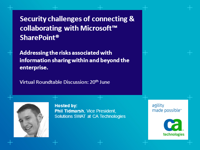 Security challenges of connecting & collaborating with Microsoft™ SharePoint®