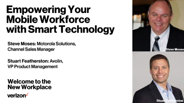 Verizon Presents: Welcome to the New Workplace, Webinar #12