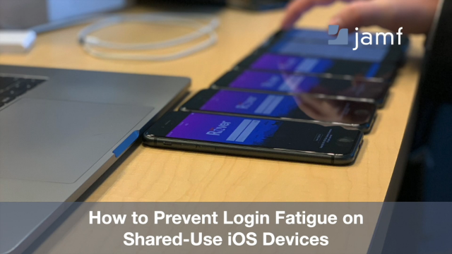 How to Prevent Login Fatigue on Shared iOS Devices