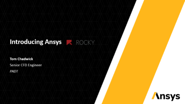 Introducing Ansys Rocky