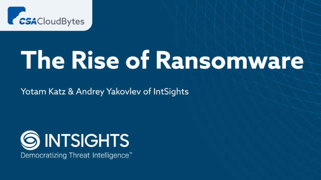 The Rise of Ransomware: Time to Expand Your Defense Beyond Data Backups