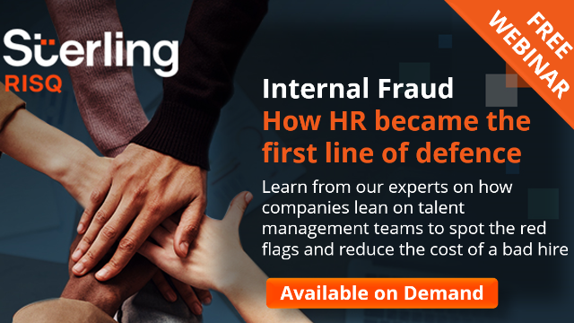 Internal Fraud: How HR Became The First Line Of Defence