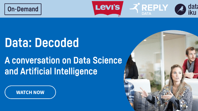 A Conversation on Data Science and Artificial Intelligence ft. Levi's