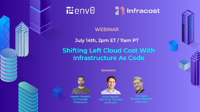 Shifting left cloud cost with Infrastructure as Code