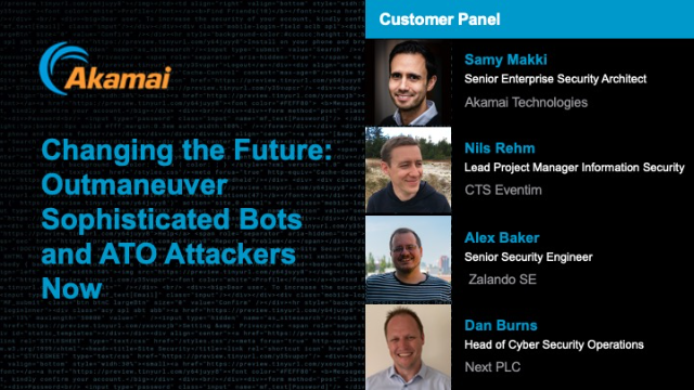 Changing the Future: Outmaneuver Sophisticated Bots and ATO Attackers Now