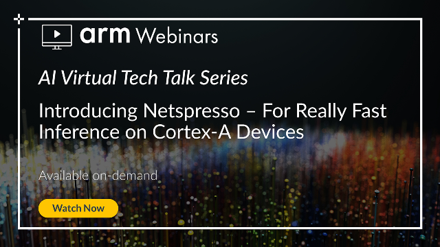 Introducing Netspresso – For Really Fast Inference on Cortex-A Devices