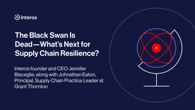 The Black Swan Is Dead—What's Next for Supply Chain Resilience?