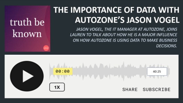 Podcast: The Importance of Data with Autozone