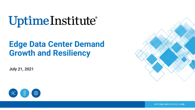 Edge Data Center Demand Growth and Resiliency
