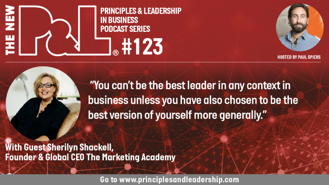 The New P&L speaks to Sherilyn Shackell, Founder & CEO The Marketing Academy
