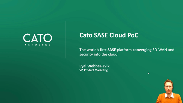 Cato SASE Cloud – Join the Demo