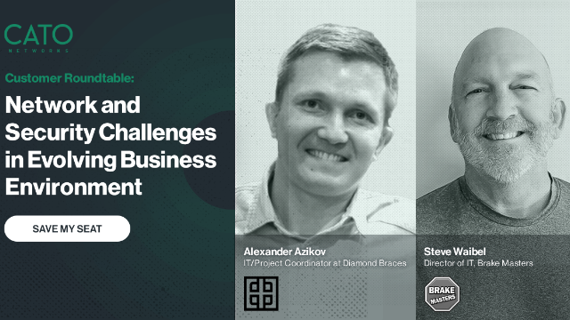 IT Roundtable: Network and Security Challenges in Evolving Business Environment