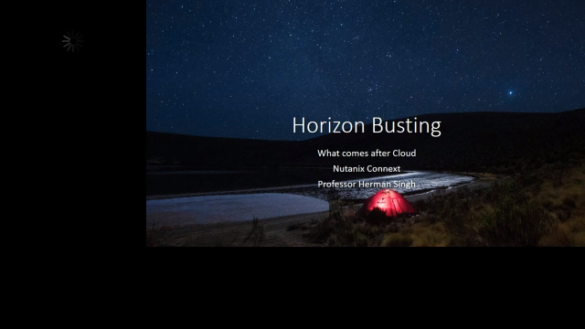 Horizon busting - What will the post cloud world look like?