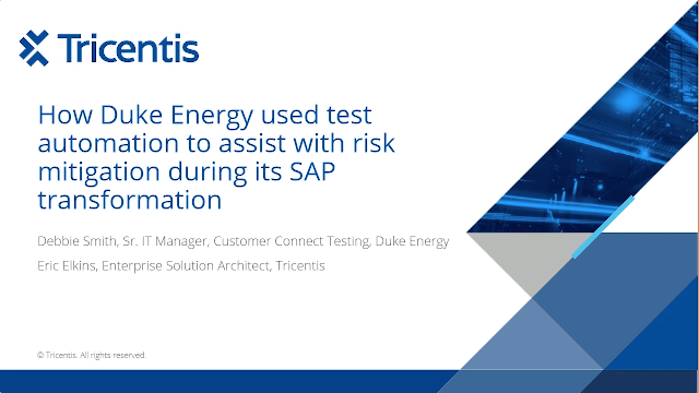 How Duke Energy used test automation to mitigate risks during SAP transformation