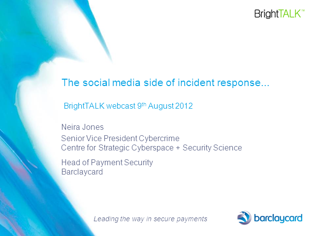 The Social Media Side of Incident Response: How prepared are you?